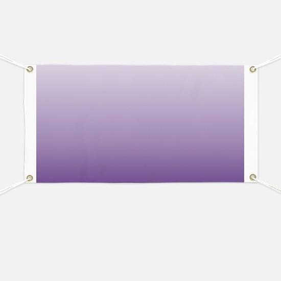 modern purple ombre Banner