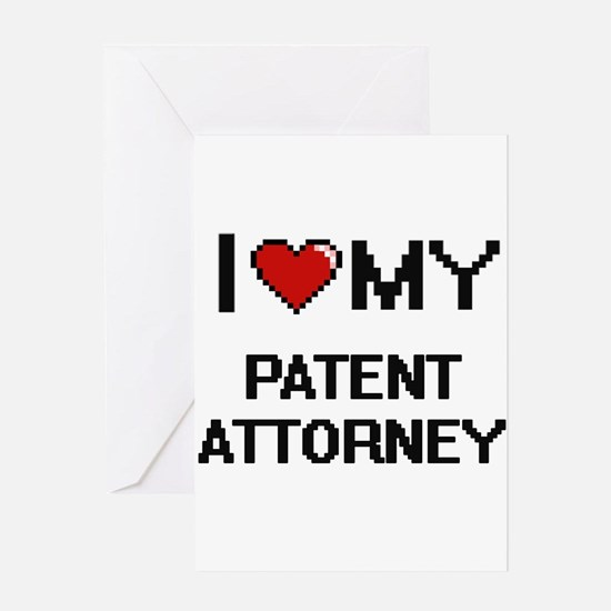 I love my Patent Attorney Greeting Cards