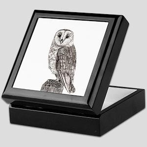 Barn Owl 2 Keepsake Box