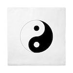 Yin Yang Symbol Queen Duvet Cover
