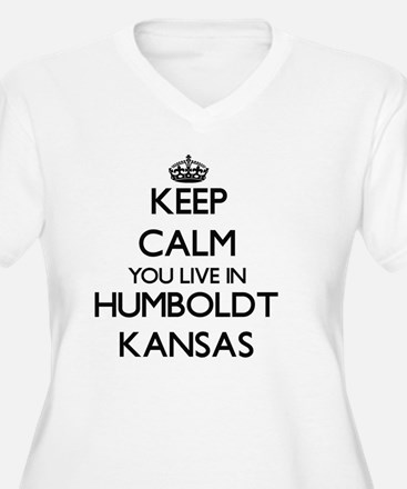 Keep calm you live in Humboldt K Plus Size T-Shirt