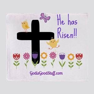 Risen Throw Blanket