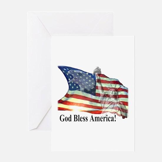 God Bless America! Greeting Card