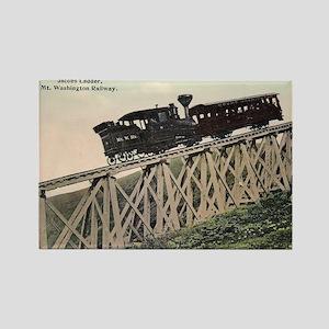 Cog Railway, Mount Washington, 19 Magnets