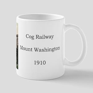 Cog Railway, Mount Washington, 1910 Mug