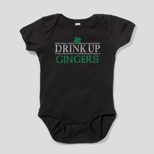 Drink Up Gingers Baby Bodysuit