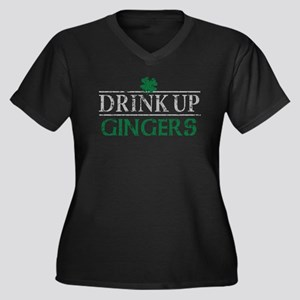 Drink Up Gingers Plus Size T-Shirt