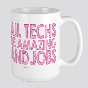 Nail Technician Hand Jobs Mugs