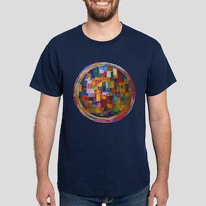 The earth mandala - Dark T-Shirt