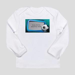 Soccer Debate L Long Sleeve Infant T-Shirt