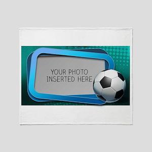 Soccer Debate L Throw Blanket