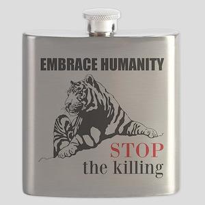 Embrace Humanity Flask