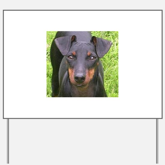 manchester terrier Yard Sign