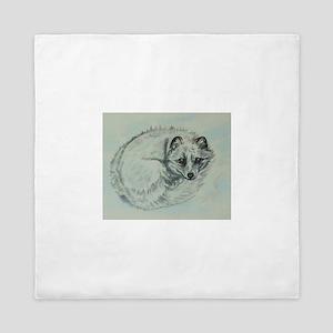 Arctic Fox Queen Duvet