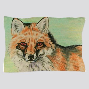 Red Fox headstudy Pillow Case