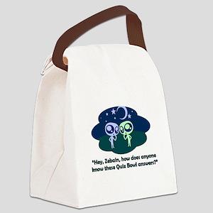 Aliens Canvas Lunch Bag