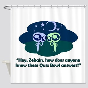 Aliens Shower Curtain