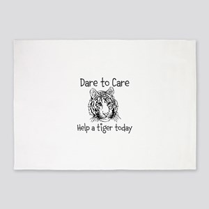 Dare to Care 5'x7'Area Rug