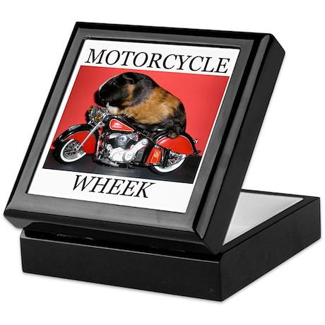 Motorcycle Wheek! Keepsake Box