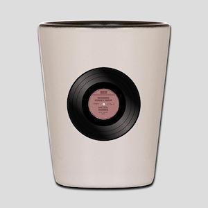 Vinyl record Shot Glass