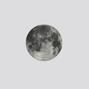 Beautiful full moon Mini Button