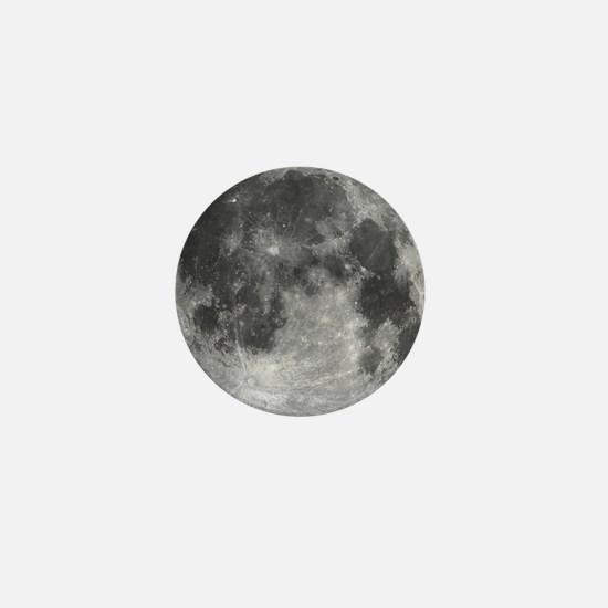 Beautiful full moon Mini Button