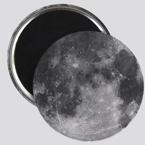 Beautiful full moon Magnets