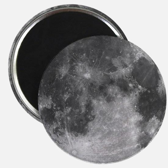 Beautiful full moon Magnets