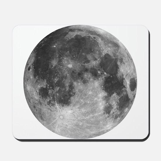 Beautiful full moon Mousepad