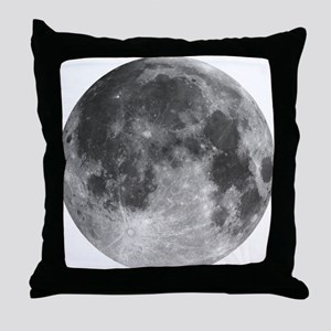 Beautiful full moon Throw Pillow