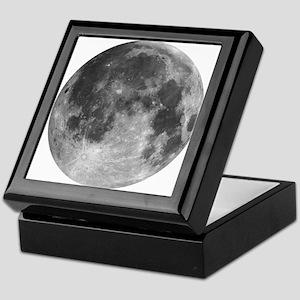 Beautiful full moon Keepsake Box
