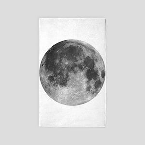 Beautiful full moon Area Rug