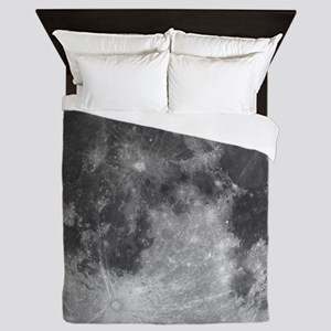 Beautiful full moon Queen Duvet