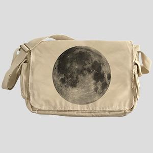 Beautiful full moon Messenger Bag