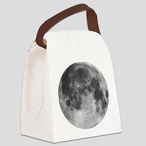 Beautiful full moon Canvas Lunch Bag