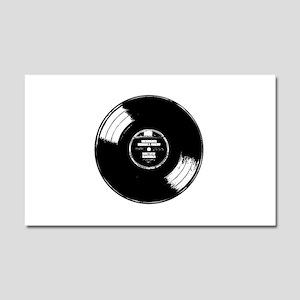 Vinyl record Car Magnet 20 x 12