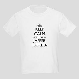 Keep calm you live in Jasper Florida T-Shirt