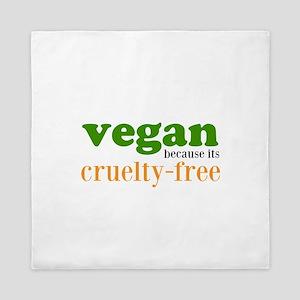 Cruelty Free Queen Duvet