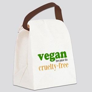 Cruelty Free Canvas Lunch Bag