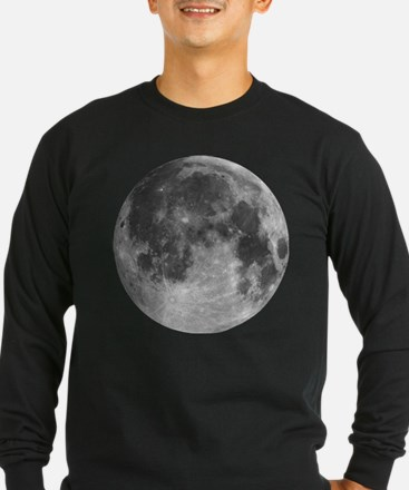 Beautiful full moon Long Sleeve T-Shirt