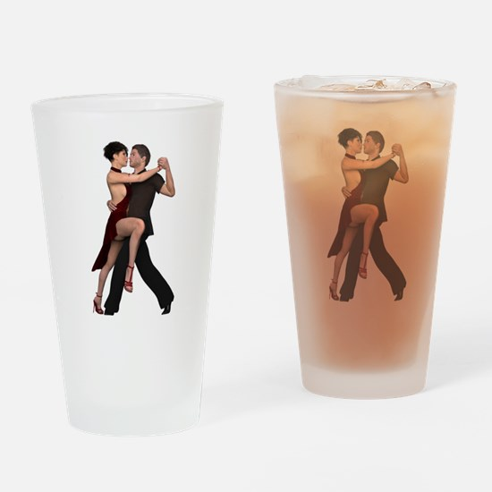 Dancers ~ Argentine Tango I Drinking Glass