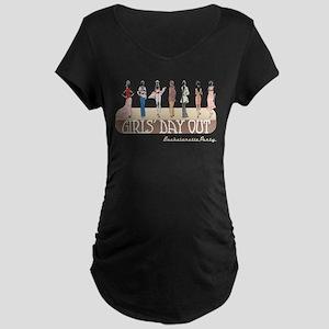 Girls' Day Bachelorette Maternity Dark T-Shirt