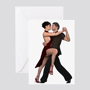 Dancers ~ Argentine Tango I Greeting Cards