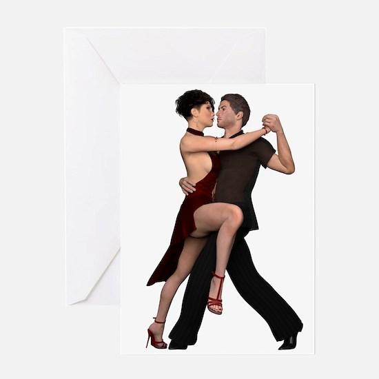 Dancers ~ Argentine Tango I Greeting Cards