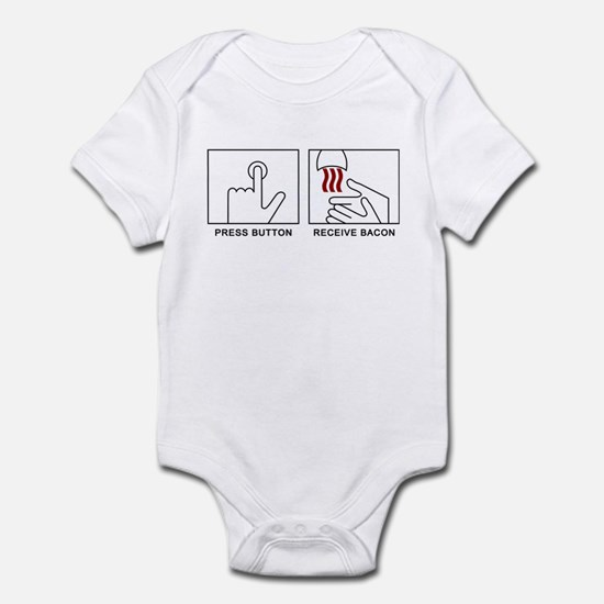 'Receive Bacon' Infant Bodysuit