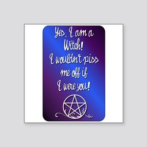 Yes I am a Witch Sticker