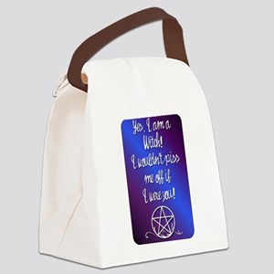 Yes I am a Witch Canvas Lunch Bag