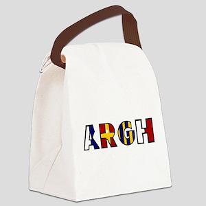 Argh Canvas Lunch Bag