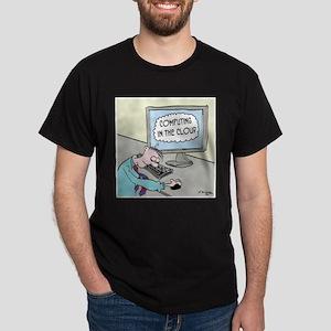 Computer Cartoon 9249 Dark T-Shirt