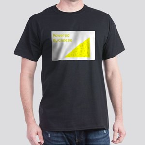 Powered by cheese Dark T-Shirt